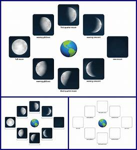 Phases of the Moon Printables - Gift of Curiosity
