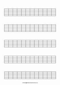 Blank Guitar Neck Diagram