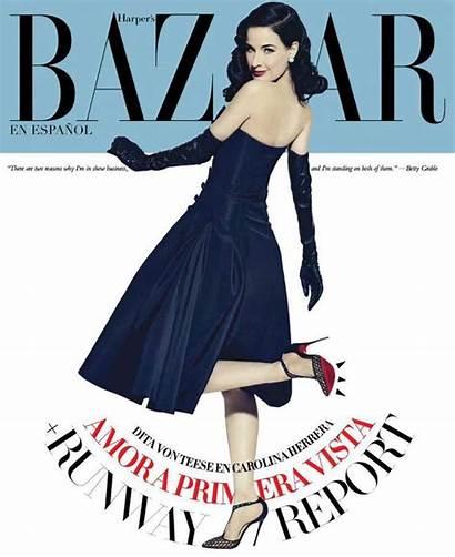 Dita Teese Bazaar Za Revistas Harper Febrero
