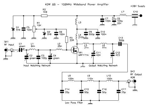 Mhz Wideband Amplifier Mrfa