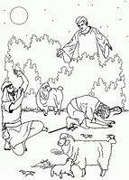 HD Wallpapers Coloring Pages Christmas Shepherds