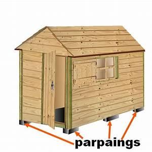 Plan Cabane En Bois Pdf : plan cabane bois de jardin abri jardin bois cabanes ~ Melissatoandfro.com Idées de Décoration