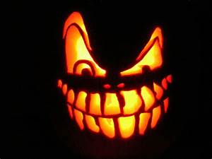 jack o lantern free stock photo a scary halloween jack With scary jack o lantern face template