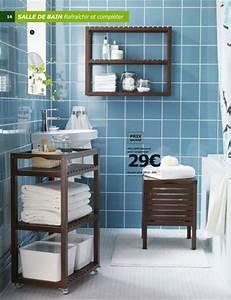 salle de bains ikea le meilleur du catalogue cote maison With meuble d appoint salle de bain ikea