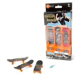 Tony Hawk Circuit Boards Tri Pack From Hexbug