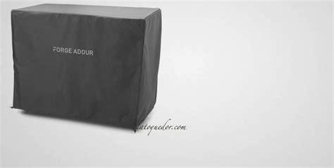 housse chariot plancha premium et origin forge adour accessoires plancha la toque d or
