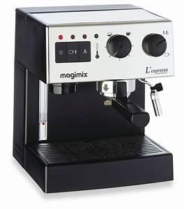 Meilleur Machine A Café Dosette : magimix machine expresso chrom brillante automatique ~ Melissatoandfro.com Idées de Décoration