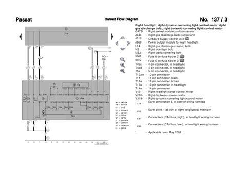 Passat Central Locking Wiring Diagram by Vw Passat 3c Bi Xenon Wiring Diagram