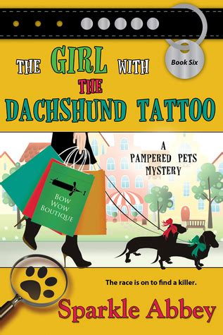 girl   dachshund tattoo  sparkle abbey