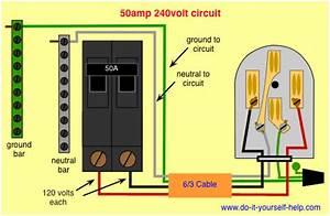 220 Volt Breaker Wiring Diagram