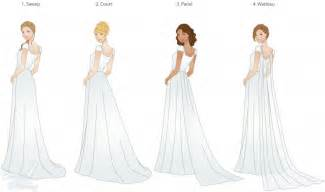 types of wedding dresses wedding trains guide to style type and length lds wedding planner