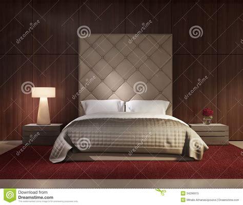 chambre a coucher de luxe intérieur de luxe de chambre à coucher contemporaine
