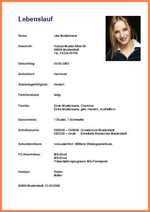 Lebenslauf Vorlage Schüler by 16 Vorlagen Lebenslauf Sch 252 Ler F 252 R Jeden Jobsuche Bullet