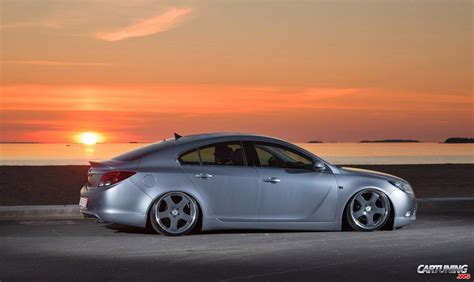 stance opel insignia side