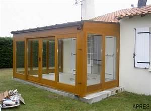 Veranda En Bois A Faire Soi Meme : v randa bois 77 seine et marne veranda bois 94 val de ~ Premium-room.com Idées de Décoration