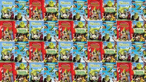 Shrek Shrek 2 Shrek Third Shrek Forever After Wallpaper