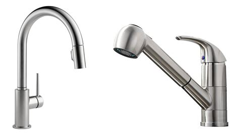 top pull kitchen faucets top 5 best kitchen faucets reviews 2017 best pull