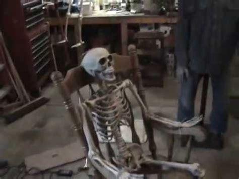 foto de Rocking Chair Skeleton Halloween YouTube