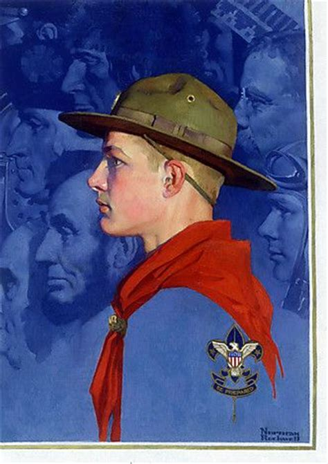 83 best Art - Norman Rockwell Scouting images on Pinterest ...