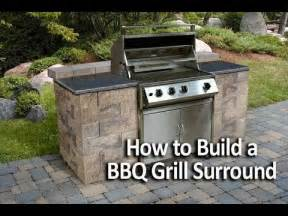 how to build an outdoor kitchen island how to build a bbq grilling station or grill surround