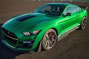2020 Mustang Shelby GT500 VIN #001 Sells For $1.1 Million, Gets Custom Paint Job
