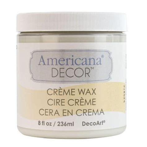 decoart americana decor 8 oz clear creme wax adm01 95
