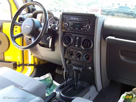yellow jeep interior 2008 detonator yellow jeep wrangler unlimited rubicon 4x4