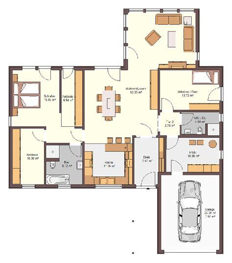Bungalow Garage Grundrisse by Bungalow Grundriss 5 Zimmer Haus Genial Danhaseltine