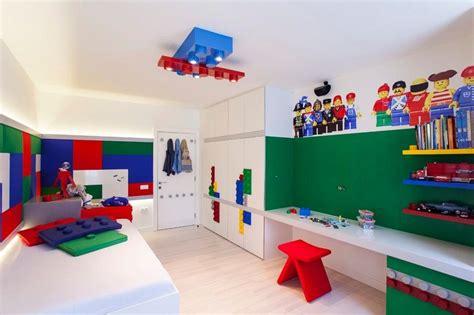 Wandtattoo Kinderzimmer Lego by Kinderzimmer F 252 R Jungen Mit Lego Wandtattoos Aufgepeppt