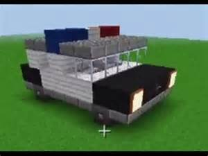 Minecraft How to Build Police Cars