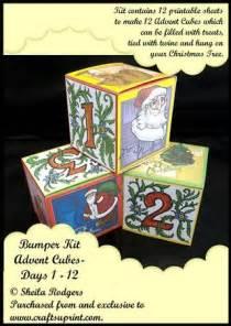 bumper kit advent cubes days   cup