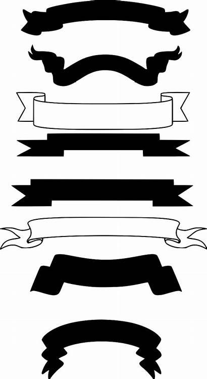 Svg Script Banners Scrolls Icon