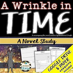 A Wrinkle In Time Novel Study Unit  Comprehension