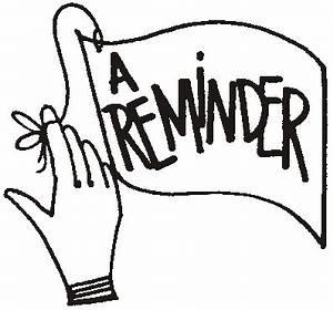 Free Reminder Clip Art Pictures - Clipartix