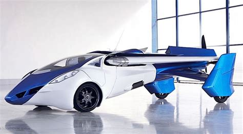 » Concept Flying Car Aeromobil 2017 Future Technology