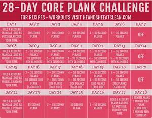 28-Day Plank Ch... Plank Challenge