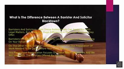Difference Between Barrister Solicitor