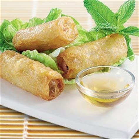 cuisine chinoise nems nems au porc et à la crevette