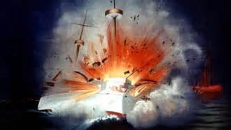 the maine explodes feb 15 1898 history com