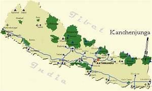 Image Gallery kangchenjunga on a map