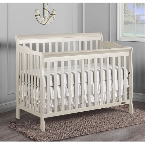 on me ashton 4 in 1 convertible crib on me ashton convertible 5 in 1 crib in pearl white