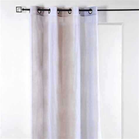 voilage 135 x h260 cm tie and die taupe voilage eminza
