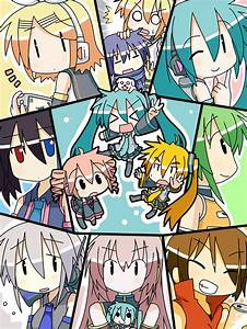 Addicted Addicts!: Vocaloid CHIBI