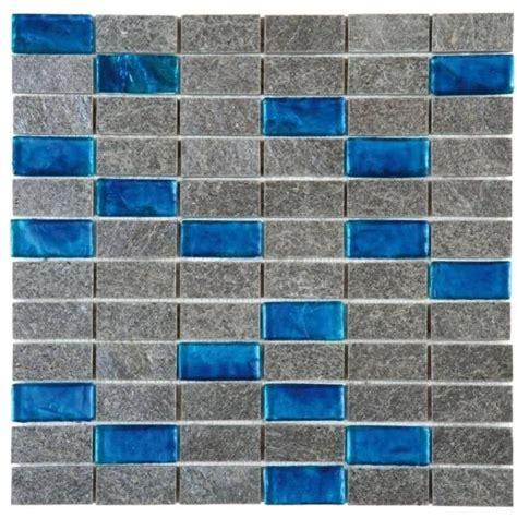 Bati Orient Tile by Bati Orient Grey Quartzite Turquoise