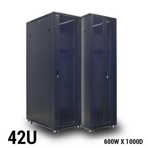 42u server rack toten professional 42u server rack 800w x 1000d