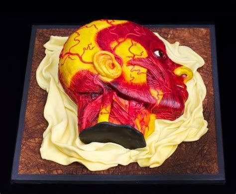 Wax anatomy model cake / Boing Boing