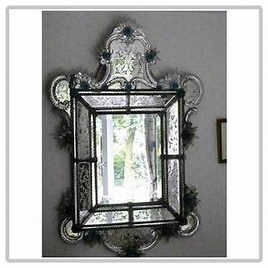 Miroir Vénitien Ancien : ancien miroir v nitien ~ Preciouscoupons.com Idées de Décoration