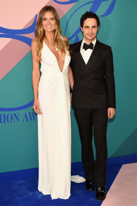 Heidi Klum Cfda Fashion Awards Celebztoday