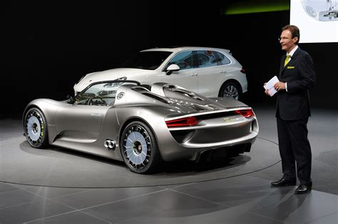 Geneva 2018 Porsche 918 Spyder Concept Photo Gallery