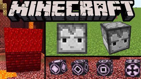 Minecraft 110 News Nether Blocks! New Wart Bricks